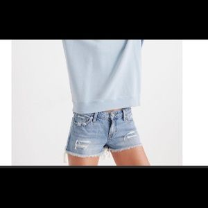 Lucky Brand The Cut Off Denim Jean Short 30